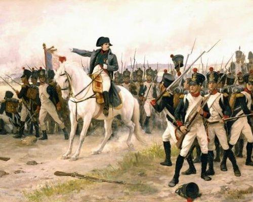 General Napoleon Bonaparte beherrschte mit seinen französischen Truppen bis 1815 weite Teile Europas