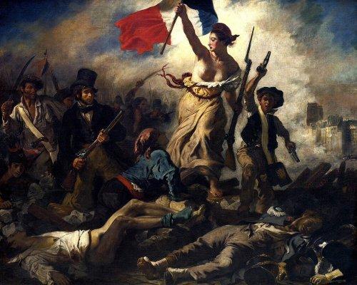 Marianne, Französische Revolution, Symbol der Nation