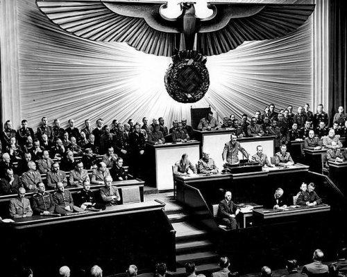 Hitler-Rede Außenpolitik