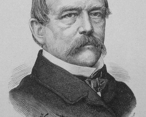 """Otto von Bismarck, Reichskanzler von 1871 bis 1890, forcierte mit seinem """"Kulturkampf"""" die Trennung zwischen Kirche und Staat"""