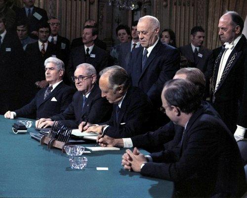 Paris Waffenstillstandsabkommen 1973