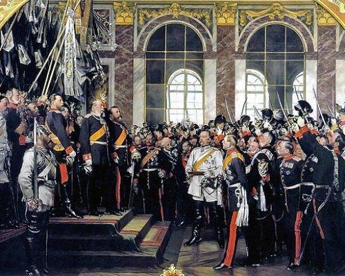 Im Jahr 1871 ereignete sich - unter Führung Preußens - die Gründung des Deutschen Kaiserreichs. Seitdem war Deutschland ein einheitlicher Nationalstaat