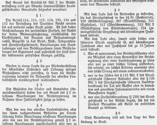 Reichstagsbrandverordnung