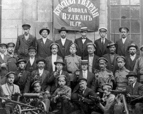 Bolschewiki, Oktoberrevolution 1917