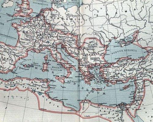 Karte Römisches Reich