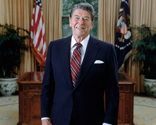 Ronald Reagan, US-Präsident