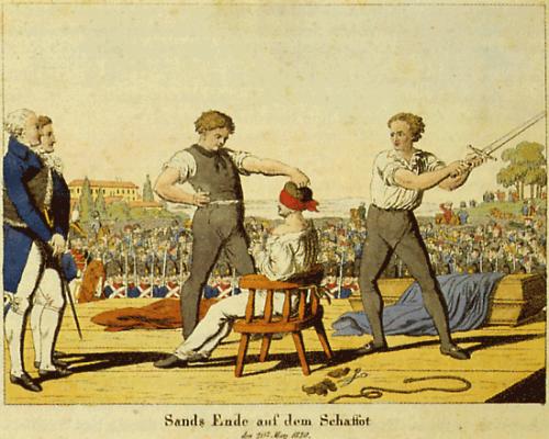 Hinrichtung von Karl Ludwig Sand