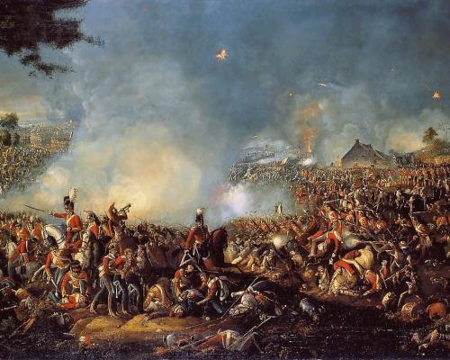 Schlacht bei Waterloo 1815