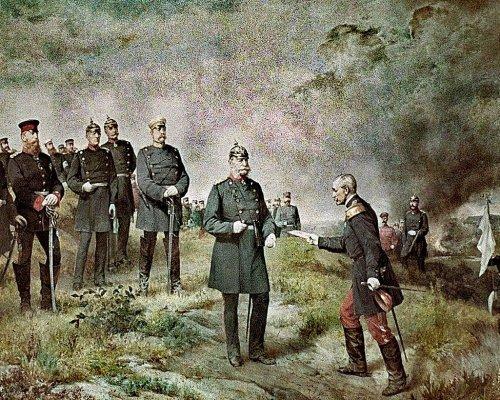 Schlacht von Sedan im Jahr 1870