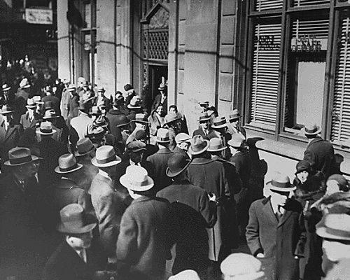 Schwarzer Freitag in den USA 1929