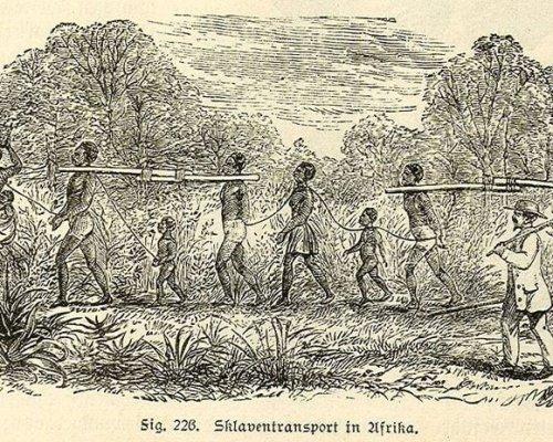 """Die europäischen Kolonialmächte verstanden sich als """"Missionare"""" und rechtfertigten den Kolonialismus in Afrika mit ihrer zivilisatorisch-technischen Überlegenheit (Sozialdarwinismus)"""