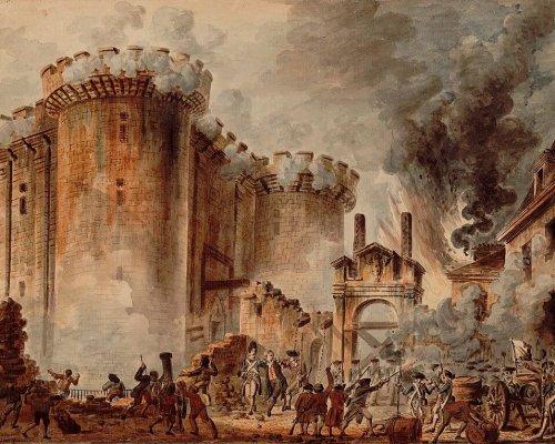 """Der """"Sturm auf die Bastille"""" am 14. Juli 1789 gilt als symbolischer Auftakt der Französischen Revolution"""