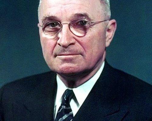 Harry S. Truman, US-Präsident