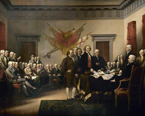 USA Unabhängigkeitserklärung 1776