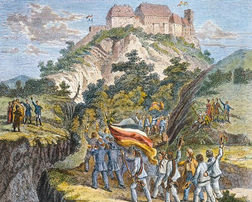 Wartburgfest 1817, Studenten