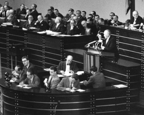 Konrad Adenauer, Westintegration
